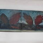 Fleanend fjur 1990 (lxb 52x60 cm)